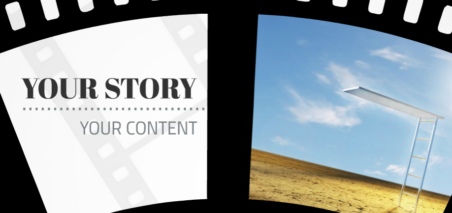 Story of time presentation template sharetemplates film strip presentation template slide 3 pronofoot35fo Image collections