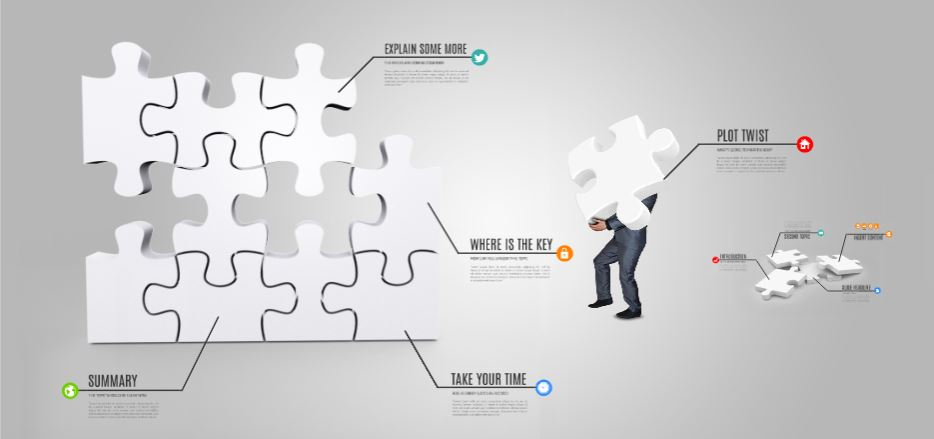 solve the puzzle presentation template