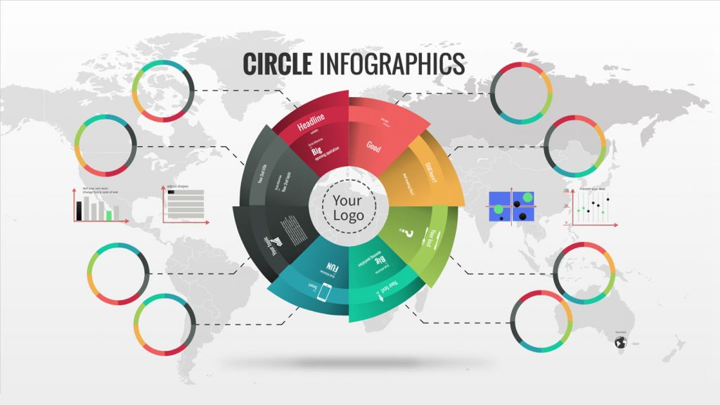 infographics prezi template | sharetemplates, Powerpoint templates