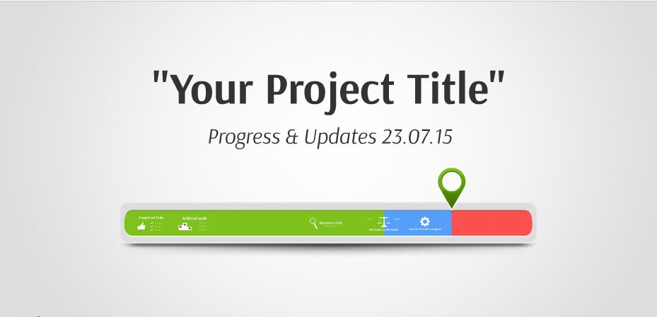 progress bar presentation template