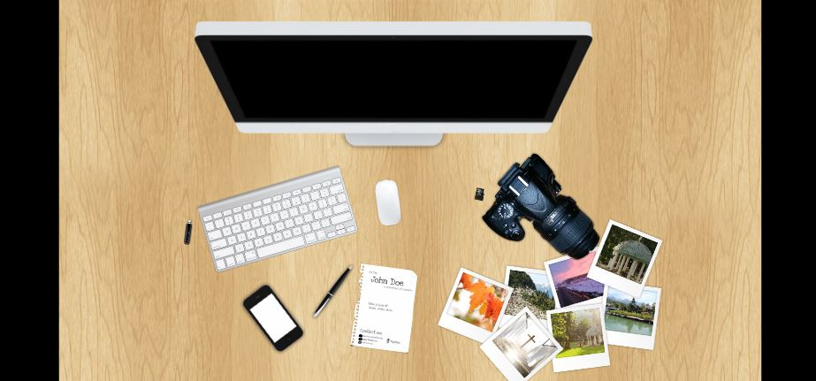 the photographer presentation template