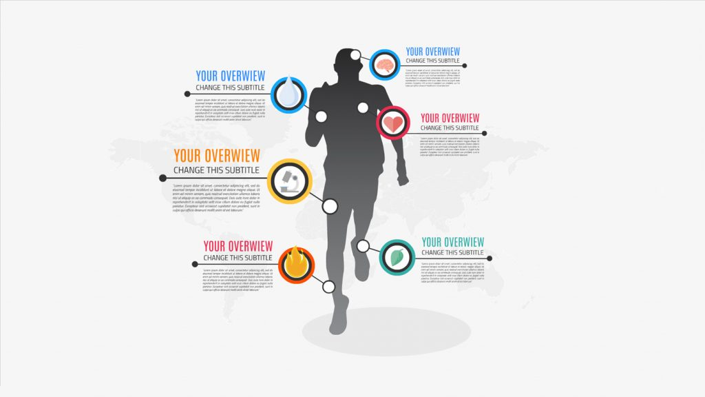 Men sport infographic presentation template sharetemplates for Sports infographics templates