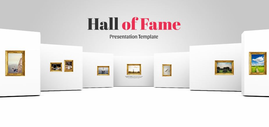 Hall Of Fame Presentation Template