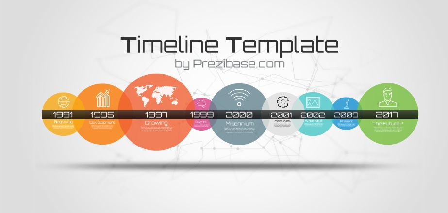 timeline template presentation template | sharetemplates, Powerpoint templates