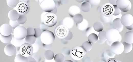 spheres-white-circle-icons-circles-cool-interesting-different-topic-presentation-template
