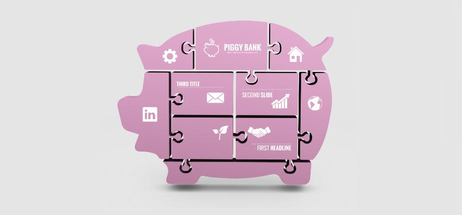 piggy bank presentation template | sharetemplates, Powerpoint templates