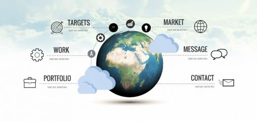 world-topic-cloud-market-message-targets-work-portfolio-business-worldwile-education-trade-presentation-template