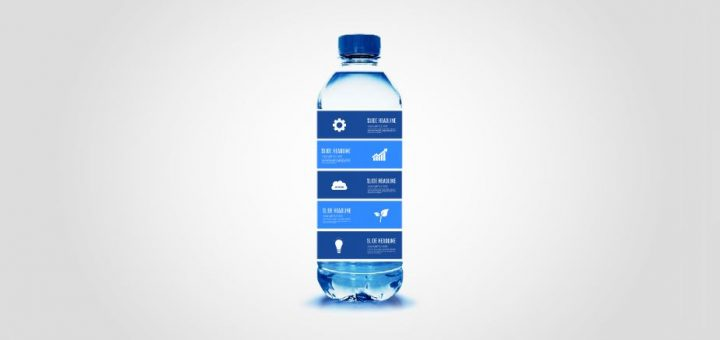water-bottle-cleanwater-workout-healthy-care-presentation-template