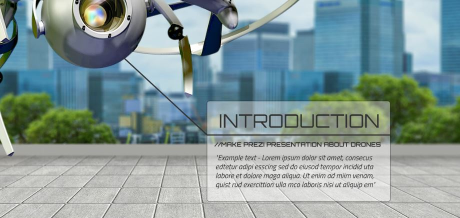 Drones Presentation Template Sharetemplates