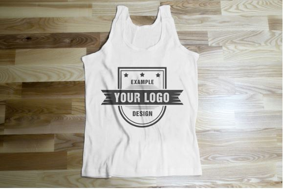 Sleeveless t shirt flat front view mockup template sharetemplates sleeveless t shirt flat front view mockup ground pronofoot35fo Images