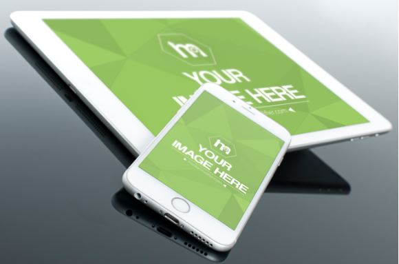 iphone-and-ipad-closeup-mockup-technology-replace-ipad-surface-screen-iphone-template
