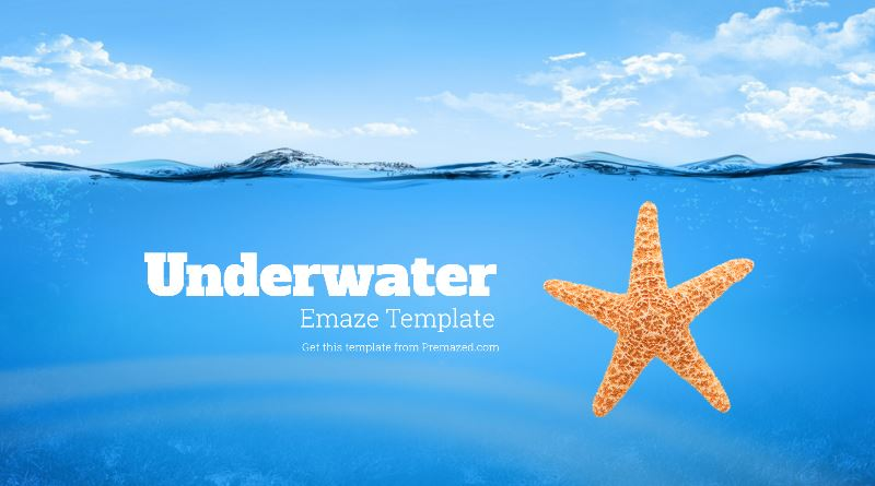 water and ocean presentation template