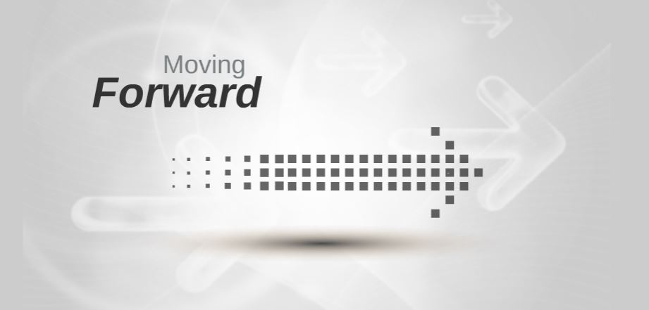 Moving forward presentation template sharetemplates moving forward white backround company business education study toneelgroepblik Choice Image