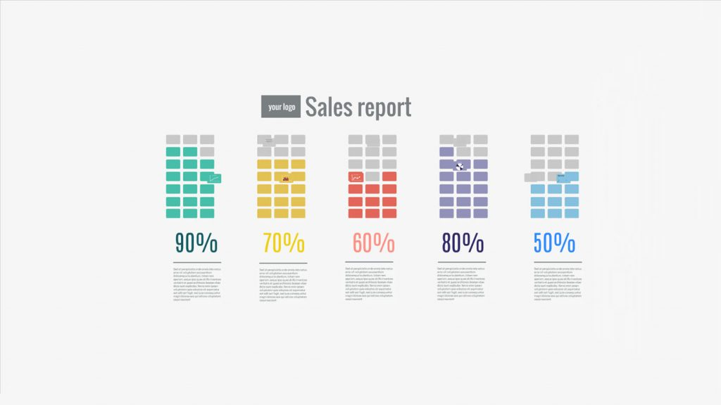 sales report presentation template | sharetemplates, Report Presentation Template, Powerpoint templates