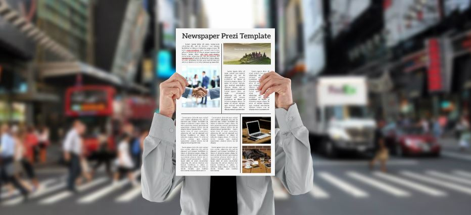breaking news presentation template