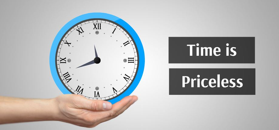 time is priceless presentation template