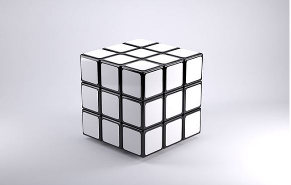 Rubiks Cube Mockup Template Products