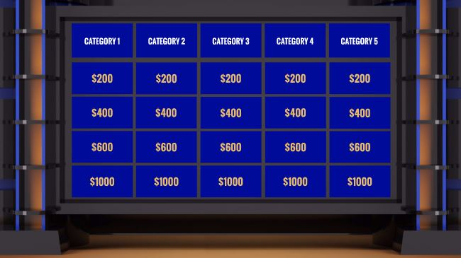 Jeopardy Prezi Template Sharetemplates