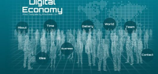Prezi template sharetemplates digital economy prezi template accmission Gallery