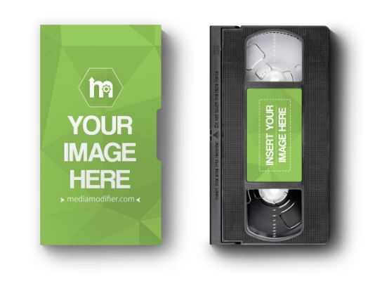 vhs cassette and paper case mockup generator sharetemplates