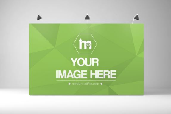 Exhibition Booth Backdrop : Exhibition booth backdrop mockup generator sharetemplates